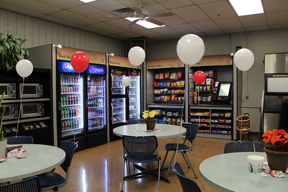 Micro-market kiosks for South Bend, Mishawaka & Elkhart businesses